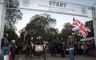 The sun shone for the annual London to Brighton Veterans run