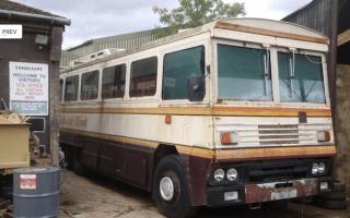 For sale: Ex-Margaret Thatcher bomb-proof bus