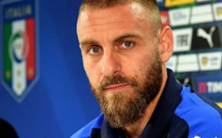 Italy lack star name - De Rossi