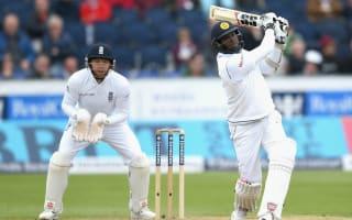 Mathews encouraged by Sri Lanka fight