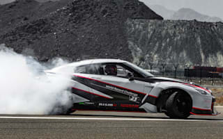 Nissan smashes world drifting record with a 1380bhp GT-R