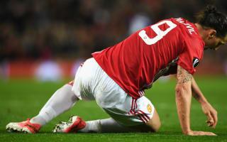 Ibrahimovic, Rojo injuries look bad - Mourinho
