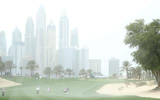 Tiger withdraws before high winds see play suspended in Dubai