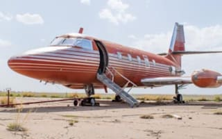 Elvis' private jet sells at auction for over £330,000