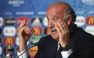 No back-three fears for Spain boss Del Bosque