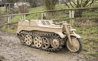 Oddball Nazi war vehicle could fetch £80,000 at auction