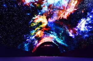 Así es el túnel OLED más grande del mundo que LG ha montado en IFA