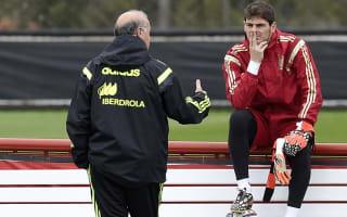 Iniesta surprised at Casillas-Del Bosque spat