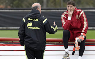 Iniesta surprised at Casillas-Del Bosque spat