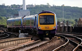 Train delayed because of 'drunk man lying on tracks'