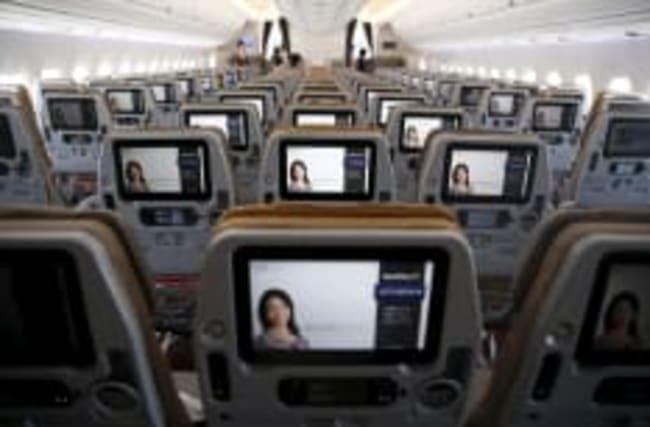 Filme im Flieger: Airlines streichen den TV-Bildschirm