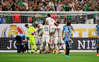 Mexico 3 Uruguay 1: Marquez and Herrera inspire win