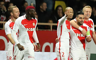Monaco 3 Nice 0: Falcao at the double in crucial title clash