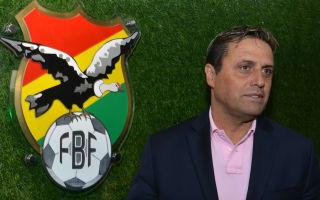 Hoyos named new Bolivia coach