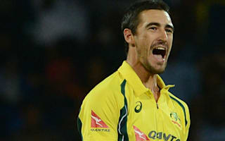Starc on gruesome injury - You could see a couple of bones