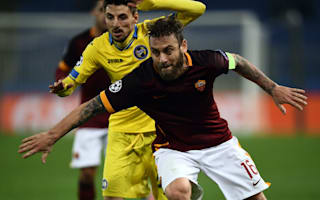 Calf injury to sideline De Rossi