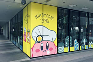 Pop-up Kirby Cafe in Tokyo