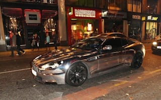 Is this Aston Martin the most tasteless footballer's car ever?