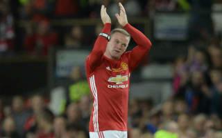 Rooney's United career celebrated in testimonial