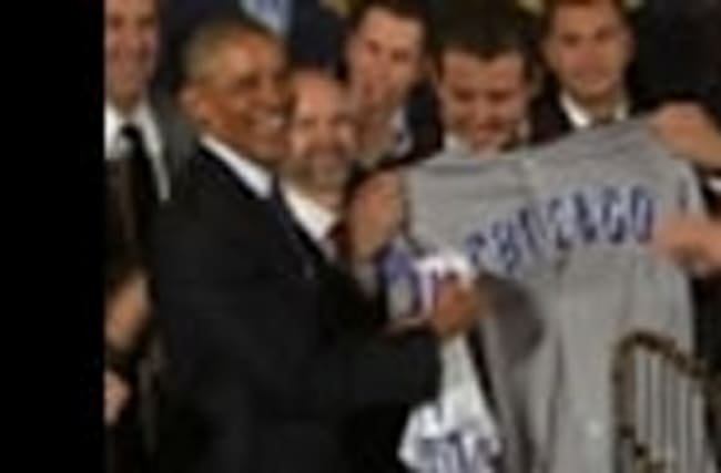 Obama Honors World Series Champion Chicago Cubs