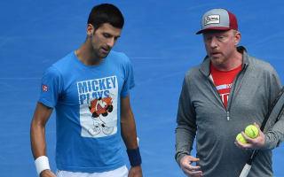 Becker: Djokovic wasn't working hard enough