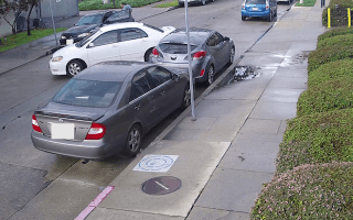 CCTV footage of hit and run turned into bizarre music video