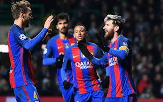 Celtic 0 Barcelona 2: Messi double sends visitors through as group winners