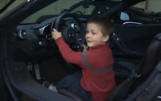 Video: Millionaire couple shares supercars with sick children