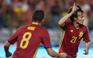 Belgium 0 Spain 2: Silva at the double as Lopetegui wins battle of new coaches