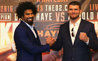 Haye to donate 10 per cent of ticket takings to Blackwell