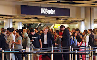 Fights break out as thousands delayed for hours at UK airports due to technical glitch