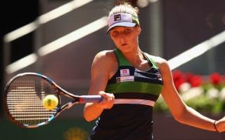 Pliskova survives scare as Konta bows out in Madrid