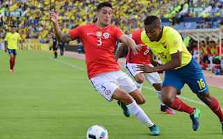 Ecuador 3 Chile 0: Valencia shines as hosts return to form