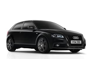 Drivers of small black Audis prove poor at parking