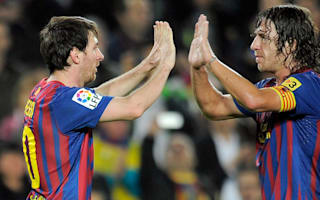 Puyol hails Messi as 'the best in history'