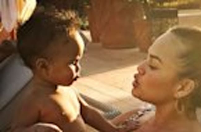 Chrissy Teigen Soaks Up Last Day on Morocco Vacation With Daughter Luna -- See the Cute Pics!
