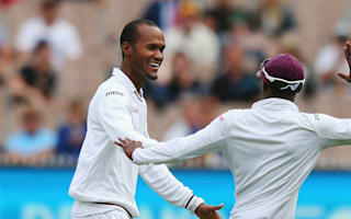 Brathwaite finds positives on tough first day