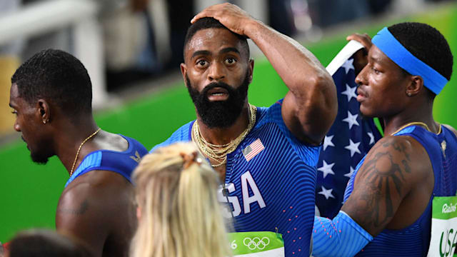 U.S. loses appeal of men's 4x100-meter relay team DQ