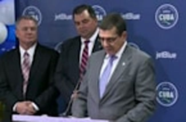 Cuba welcomes JetBlue flight from Florida: Ambassador
