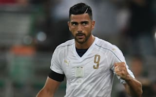 Pelle 'starting again' with Italy goal
