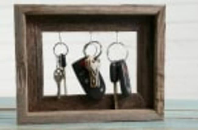 How to Make a Frame Key Holder