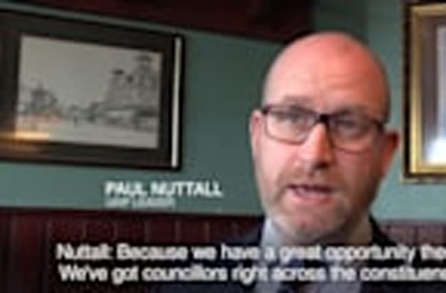 Paul Nutall rejects claim that Ukip is anti-Muslim