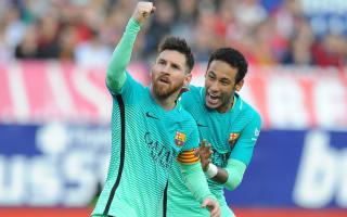 Neymar: Barca not thinking of Madrid or LaLiga rivals