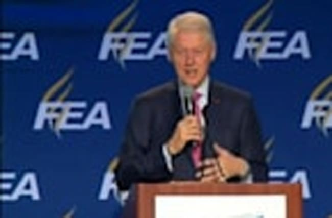 """Such a crazy election"": Bill Clinton"