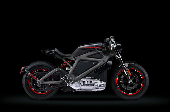 Harley Davidson reveals its first electric bike