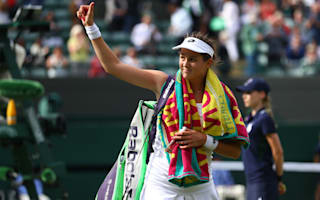 Cepelova delighted to add Muguruza scalp to impressive top-five record