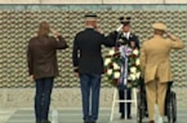 Honoring those who lost their lives in World War Two