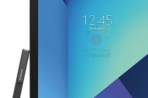 Este parece ser el nuevo Galaxy Tab S3 y su nuevo S Pen