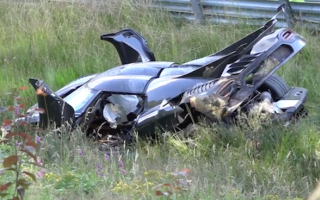 Koenigsegg One:1 destroyed at the Nürbrugring