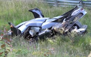 Koenigsegg One:1 destroyed at the Nürbrugring